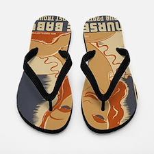 ART mini poster Nurse the Baby Flip Flops