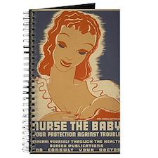 ART mini poster Nurse the Baby Journal