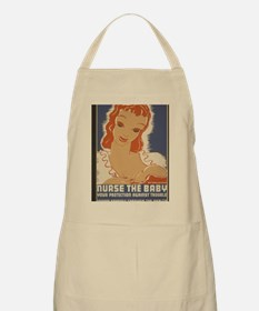ART mini poster Nurse the Baby Apron