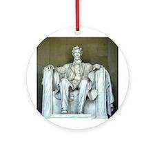 Lincoln Memorial Ornament (Round)