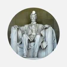 Lincoln Memorial Ornament (Round)