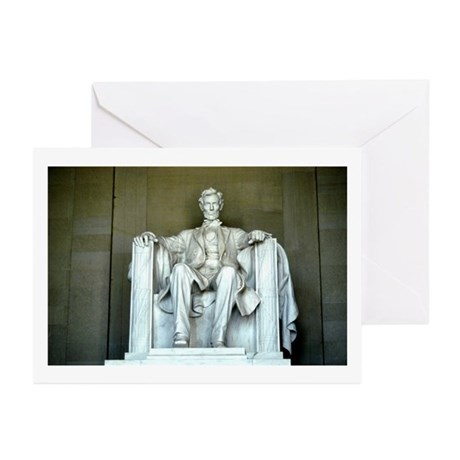 Lincoln Memorial Greeting Cards (Pk of 10)