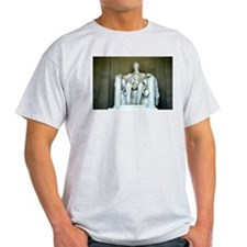 Lincoln Memorial Ash Grey T-Shirt