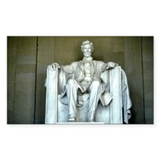 Lincoln Memorial Rectangle Decal