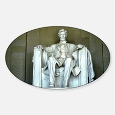 Lincoln Memorial Oval Decal