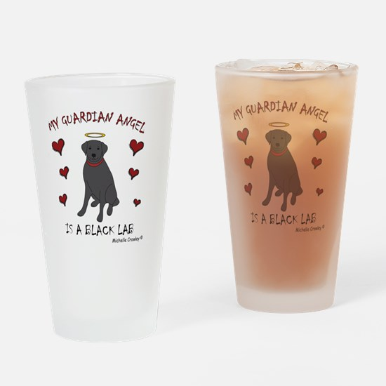 2-BlackLab Drinking Glass