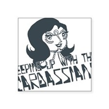 "star-trek_cardassians Square Sticker 3"" x 3"""