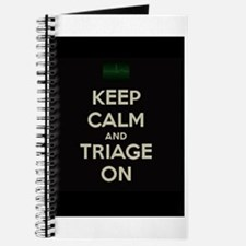 keep calm and triage on larger Journal