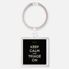 keep calm and triage on larger Keychains