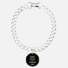 keep calm and triage on larger Bracelet