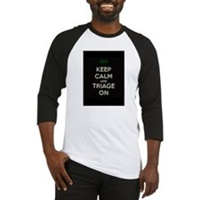 keep calm and triage on larger Baseball Jersey