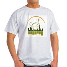I Love Dubai Ash Grey T-Shirt
