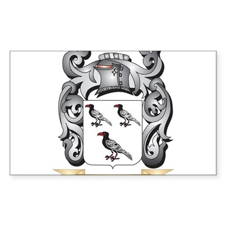 Jandak Coat of Arms - Family Crest Sticker
