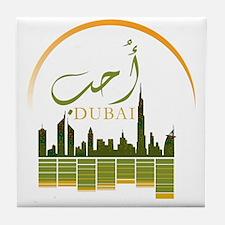 I Love Dubai Tile Coaster