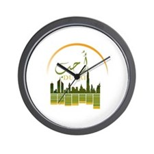 I Love Dubai Wall Clock