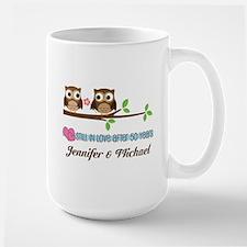 50th Wedding Anniversary Personalized 50 Year Mugs