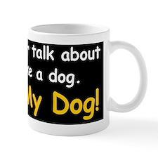 1dogobamad Small Mug