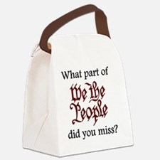 what-part-did-you-miss Canvas Lunch Bag