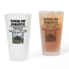 flowers-for-afghanistan Drinking Glass