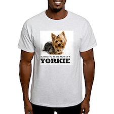 blessedyorkiemom T-Shirt