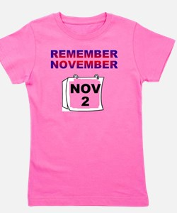 remember-november Girl's Tee