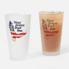 Eagle flag Drinking Glass