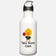 TableTennisChick Water Bottle