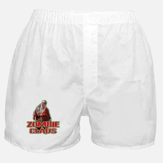 Santa FACE Boxer Shorts
