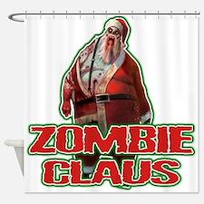 Santa FACE Shower Curtain
