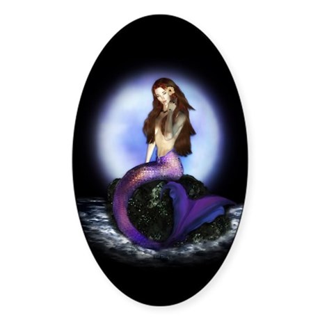 Believe Oval Sticker