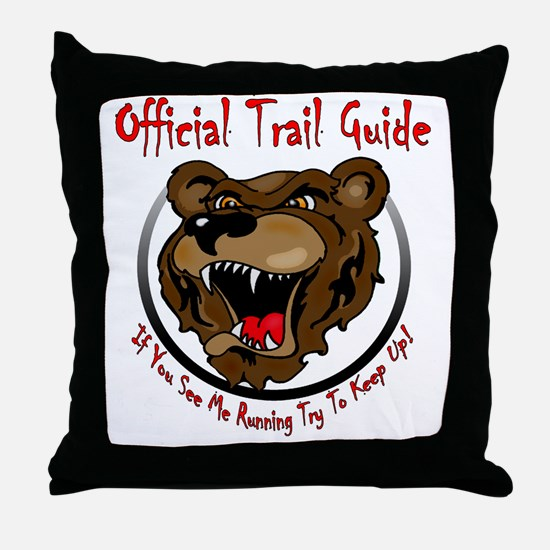 TRAIL GUIDE2 Throw Pillow