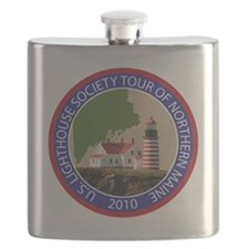 Maine patch Flask