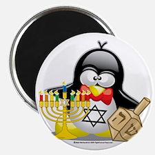 Penguin-Hanukkah Magnet
