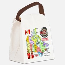 Locations Canvas Lunch Bag