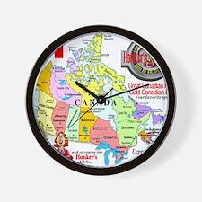 Locations Wall Clock