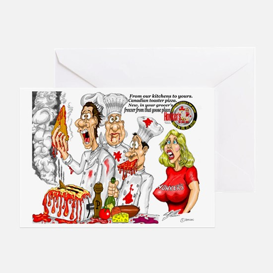 Frzn Pizza Greeting Card