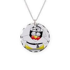 Karate-Penguin Necklace