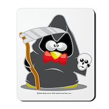 Grim-Reaper-Penguin Mousepad