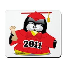Graduation-Penguin-2011-Red Mousepad