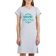KARAOKE Women's Nightshirt