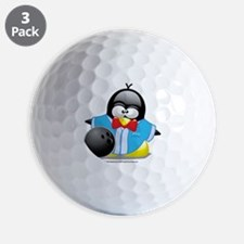 Bowling-Penguin Golf Ball