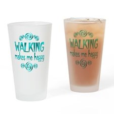 WALKING Drinking Glass
