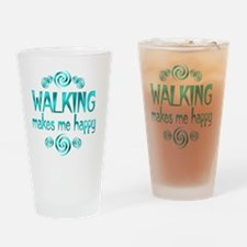 WALKING Drinking Glass