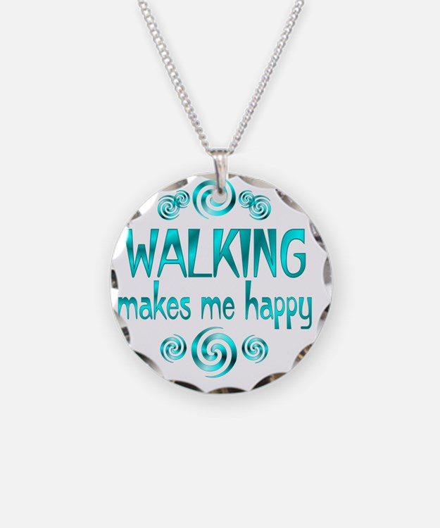 WALKING Necklace