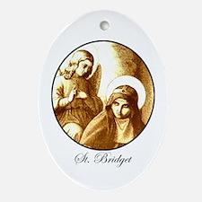 St. Bridget Oval Ornament