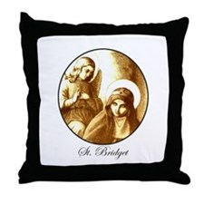 St. Bridget Throw Pillow