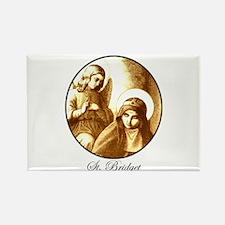 St. Bridget Rectangle Magnet