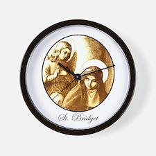 St. Bridget Wall Clock