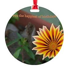 Sept 8 - Happiest of Birthdays Ornament