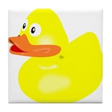 Rubber Duck Tile Coaster